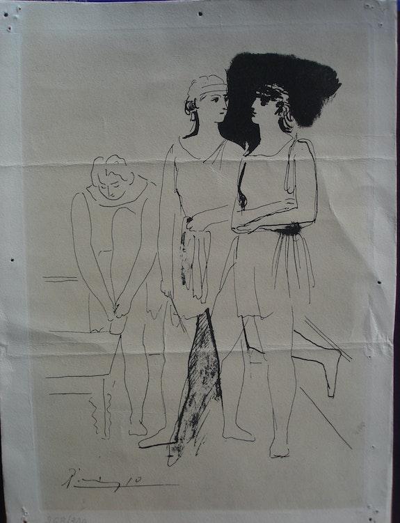 Thème mythologique par Picasso. Pablo Picasso Historien d'art, Archéologue; Chercheur Free-Lance (Er)