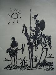Don Quichotte et Sancho Pansa. Historien d'art, Archéologue; Chercheur Free-Lance (Er)