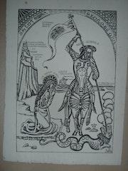 Saint-Georges par E. Bernard. Historien d'art, Archéologue; Chercheur Free-L.