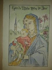 Ste-Marie Mère de Dieu par E. Bernard. Historien d'art, Archéologue; Chercheur Free-L.