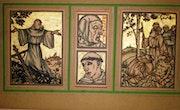 Divers saints par E. Bernard. Historien d'art, Archéologue; Chercheur Free-L.