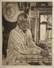 Der Imker aus der Serie Sibirjaken. Axel Zwiener