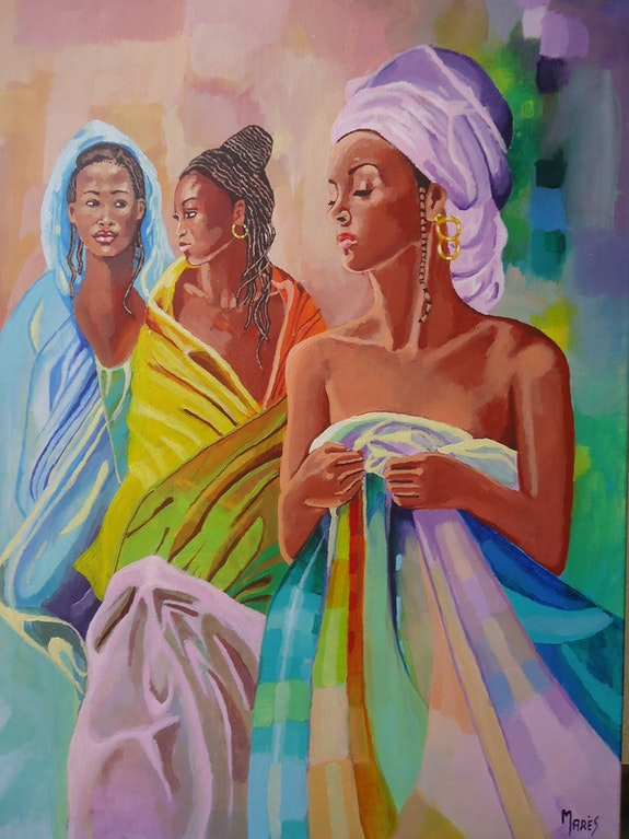 Les beautés africaines. Mares Marès