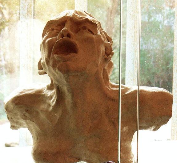Le cri (d'après Rodin). Philippe Blondé Philippe Blondé