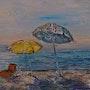 Les parasols. Violetta Malaterre