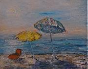 Les parasols.