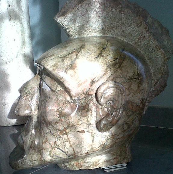 Sculpture marbre de Caunes. Michel Prats Michel Prats