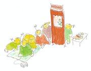 Jeux d'enfants : Le Guignol.