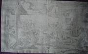 Scène de martyr d'après Raphael Urbino. Historien d'art, Archéologue; Chercheur Free-L.