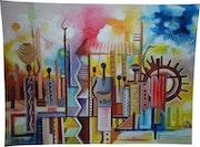 Vie Ouvrière africaine. Art Africains