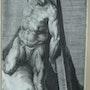 Larroortant sa croix, d'après Michel Ange B.. Historien d'art, Archéologue; Chercheur Free-Lance (Er)