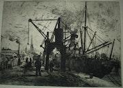 Le port de Rouen. Historien d'art, Archéologue; Chercheur Free-L.