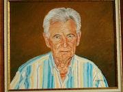 Auto portrait. M. Machin