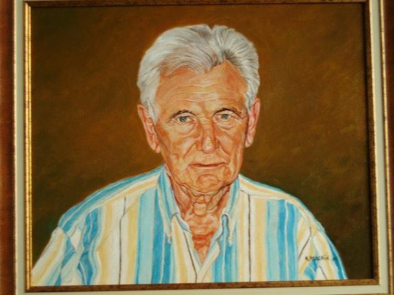 Auto portrait. Roger Machin M. Machin