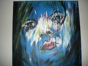 Portrait bleu.