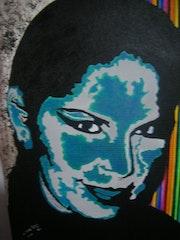 Auto retrato. Estela
