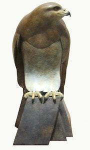 Female Buzzard in Foundry Bronze..