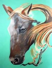 Head horse.