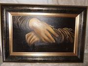 Les mains de la Joconde.