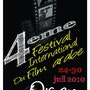 Affiche de 4eme festival internationale du film arabe a Oran. Waridehiba