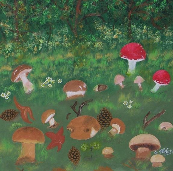 Méli-mélo dans la forêt. Ghislaine Phelut-Sanchez Ghislaine Phelut
