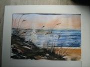 Derrière la dune (Vendée). Dany