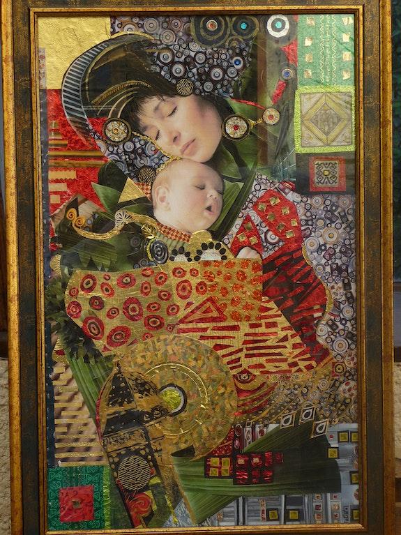 Le lien- La mère et l'enfant. Valin Isabelle Isabelle Valin