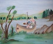 Journée de pêche….
