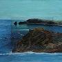 Pointe rocheuse / Peinture en extension. Mariraff