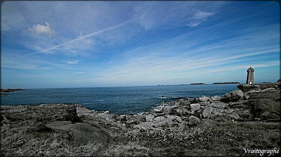 La Bretagne vue d'ici. Vraitographe Vraitographe