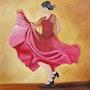 La danseuse de Flamenco. Marie Colin