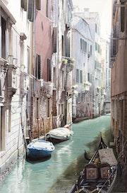 Trouée de lumière sur Venise.