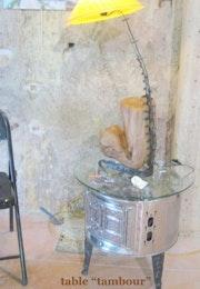 Table «tambour». Henrim