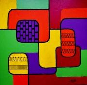 Abstrait geometrique n°15.