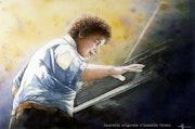 Pianiste de Jazz.