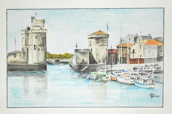 Port de La rochelle. Bel Gérard Gérard Bel