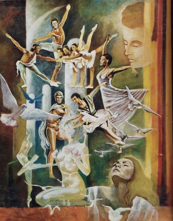 La rêveuse de ballet. Mares Marès