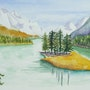 Lac au Canada. Sylvia Patissier-Gauthier