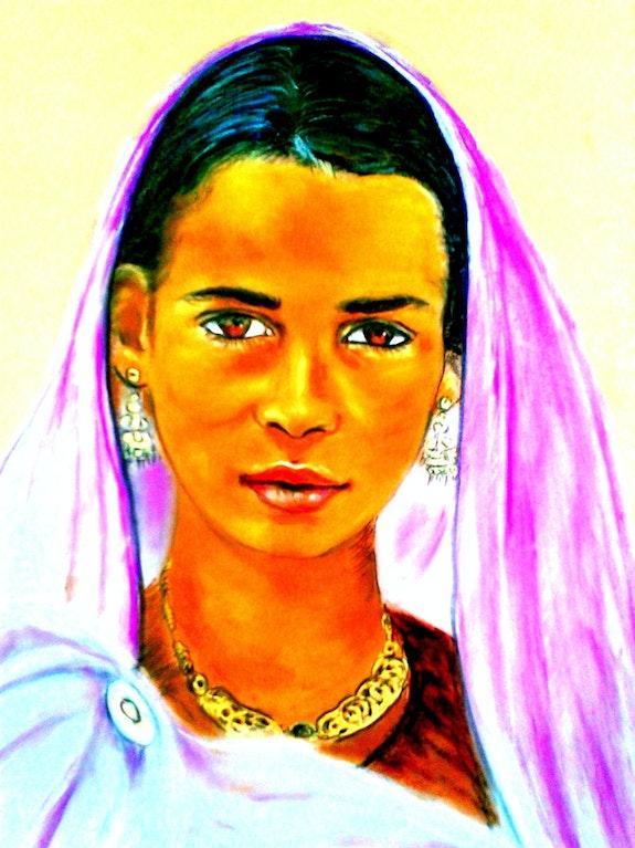 Indienne.  Joelle Bouriel