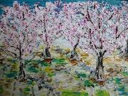 Sakura (cerisier). Toshio Asaki