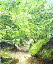 Le Chemin creux.