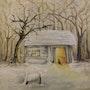 » Abschied » Ölgemälde von Ralf Czekalla. Trollking