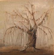 «Der alte Baum im Winter» Ölgemälde von Ralf Czekalla.