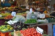 Un marché….