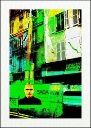 Saga urbaine. Oeuvre numérique. Série limitée à 5 exemplaires. Kej