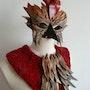 Masque de Chanteclair, le Coq. Isabelle Le Pors