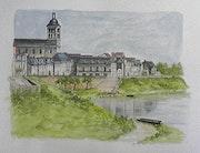St mathurin sur Loire.