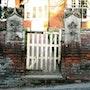 Churchyard gate. Cate Field