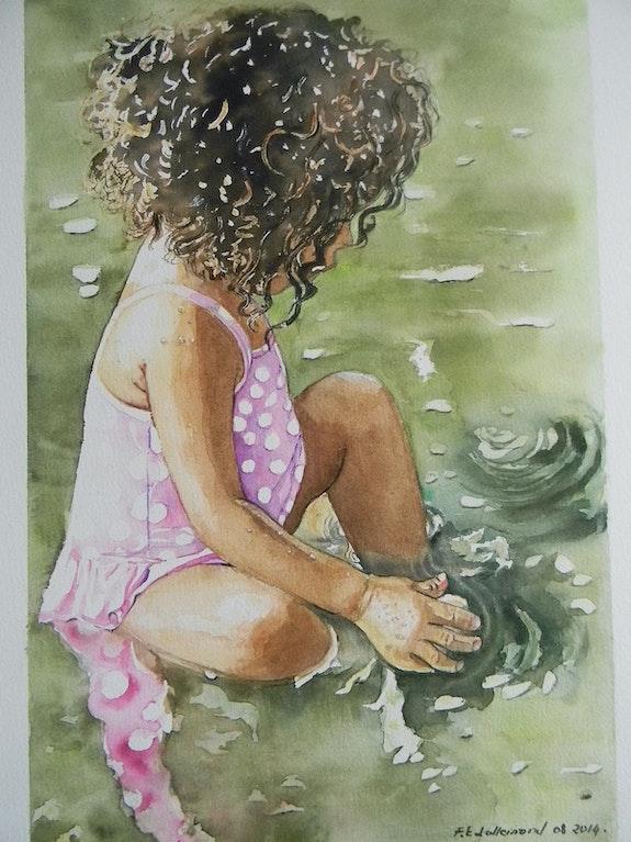 L'enfant et les sortilèges de l'eau.. Françoise-Elisabeth Lallemand Françoise-Elisabeth Lallemand