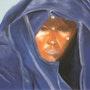 Femme touareg, un jour de fète. Renée Lefeuvre